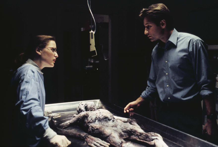 x-files autopsy