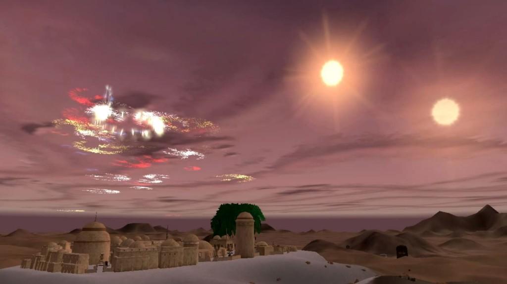 Star Wars Galaxies Fireworks