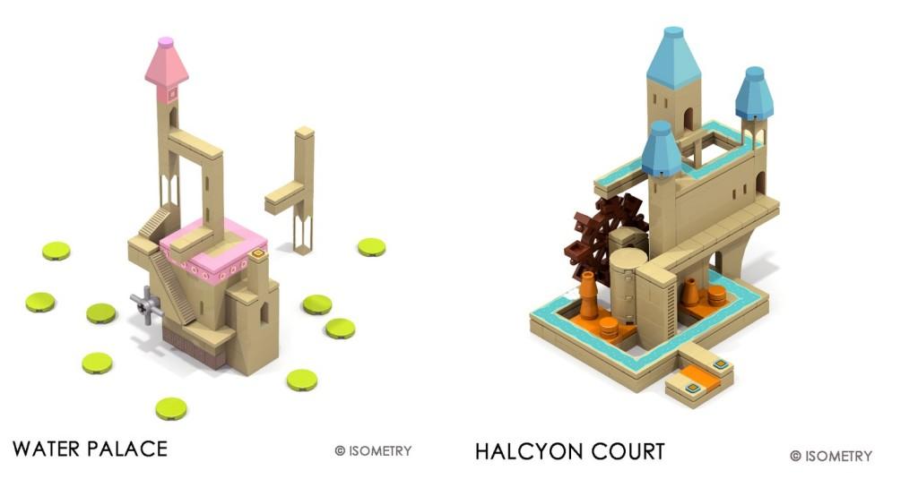 Monument Valley Lego