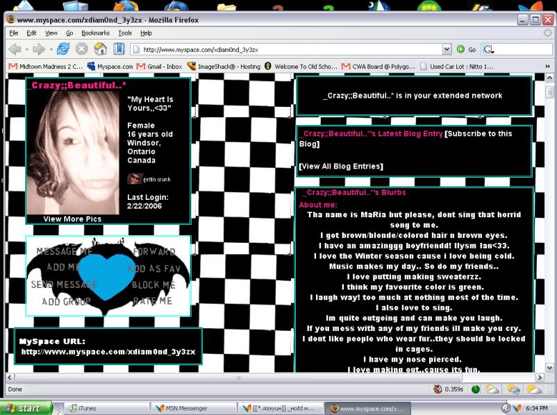 MySpace 2006