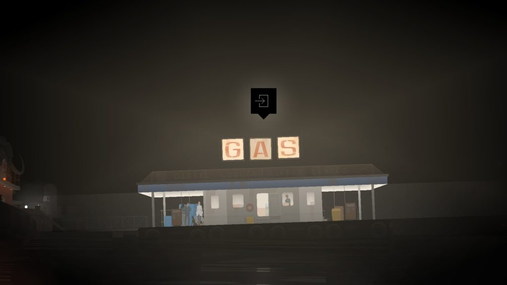 Kentucky Route Zero Act IV Gas station