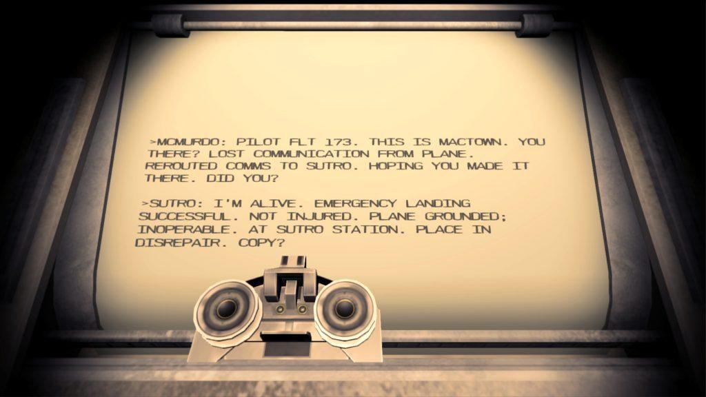 Near Death - teletype
