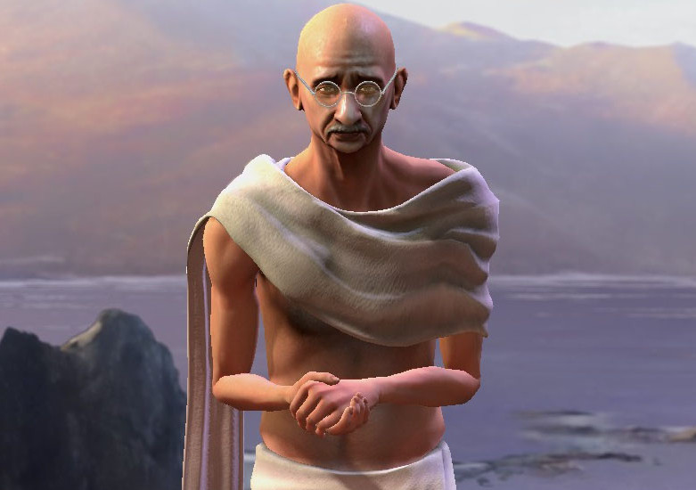 Civilization V ghandi