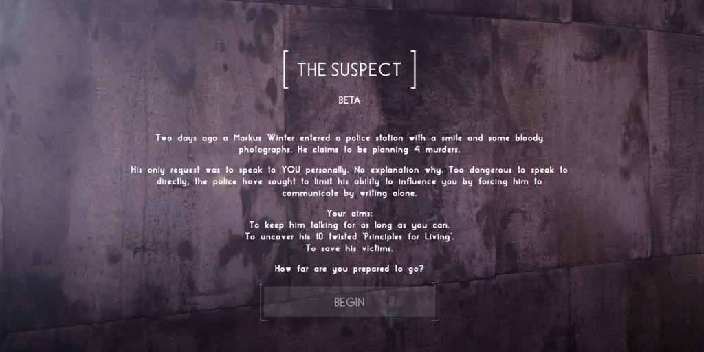 The Suspect 1