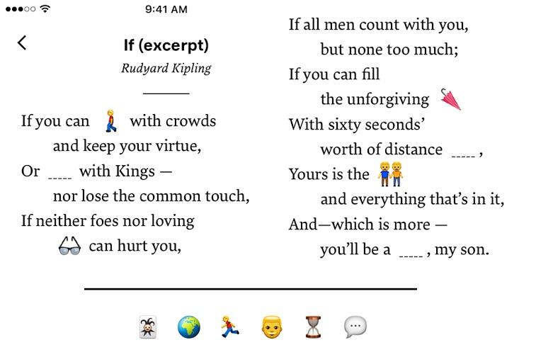 Emoji Poetry