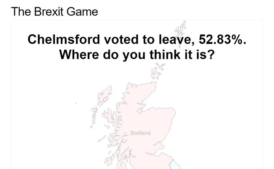 The Brexit Game
