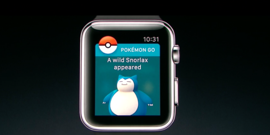 Pokemon Go Apple Watch