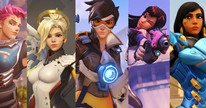 overwatch-female-characters